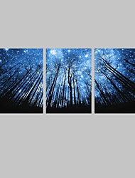 cheap -LED Canvas Art Landscape Modern Traditional,Three Panels Horizontal Print Wall Decor For Home Decoration