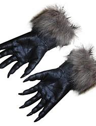 Halloween pattes horreur loup-garou loup griffes partie des gants de loup halloween halloween horreur effrayant gants de cosplay