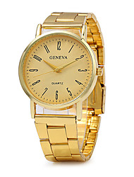 Women's Fashion Watch Quartz / Stainless Steel Band Vintage Casual Gold