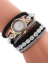 cheap -Women's Quartz Casual Fashion New Watch Leather Belt Bracelet Round Alloy Dial Watch Cool Watch Unique Watch
