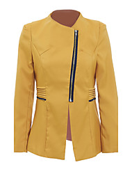 cheap -Women's Simple Casual Jacket-Solid Colored
