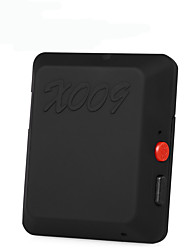 X009 mini børn pet bil sporing global locator realtid gps gsm gprs tracker sms fotografering video sos knap