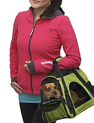 Недорогие -Кошка Собака Переезд и перевозные рюкзаки Сумка Животные Корпусы Компактность Дышащий Однотонный Желтый Красный Зеленый Синий Розовый