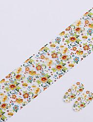 baratos -1pcs Flor / Fashion Jóias de unha / Etiquetas de unhas 3D Diário / PVC