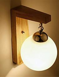 cheap -Modern / Contemporary Wall Lamps & Sconces Wood / Bamboo Wall Light 220-240V 5 W / E27