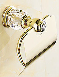 cheap -Toilet Paper Holder Contemporary Brass 1pc