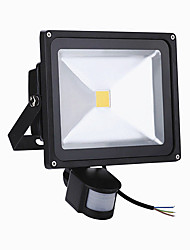 cheap -50W LED Floodlight PIR Motion Sensor LED Flood Light (AC85-265V)