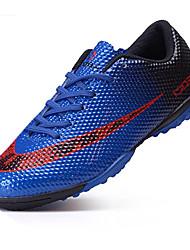 abordables -Garçon Chaussures Polyuréthane Printemps Automne Confort Basket Football Cloutée pour Athlétique De plein air Orange Rouge Bleu