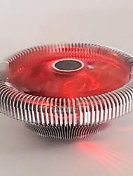 fresco naruto stella del radiatore ventola della CPU D1010 rosso multi-piattaforma