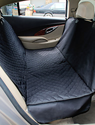 Cat Dog Car Seat Cover Pet Mats & Pads Waterproof Portable Foldable Black