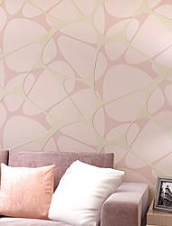 abordables -Damas Fleur Décoration artistique 3D Rayure Fond d'écran pour la maison Contemporain Revêtement , Tissu Non-Tissé Matériel adhésif requis