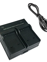 50B Digital Camera Battery Dual Charger for Olympus Li-50B Li-90B XZ1 SP720 SP810 SZ14 SZ20 SZ31 TG-1 2 3 4 SH-1 2