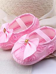 Baby Mädchen Schuhe Leinwand Herbst Komfort Sneakers Schnürsenkel Für Normal Weiß Rot Rosa