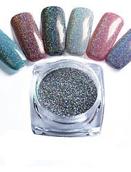 cheap -2g/Box Nail Glitter Powder Shinning Mirror Eye Shadow Makeup Powder Dust Nail Art DIY Chrome Pigment Glitter