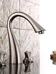 abordables -robinet évier de salle de bain - pré-rinçage / nickel répandu très répandu robinetterie à mélangeurs monotrou