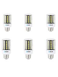 cheap -BRELONG® 6pcs 8W 800lm E14 E26 / E27 B22 LED Corn Lights B 136 LED Beads SMD 5733 Decorative Warm White Cold White 200-240V 220-240V