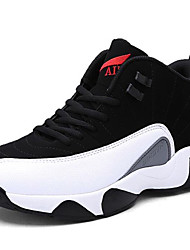 abordables -Homme Chaussures Synthétique Hiver Automne Confort Chaussures d'Athlétisme Course à Pied pour Athlétique De plein air Noir