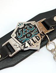 economico -Gioielli Ispirato da The Legend of Zelda Cosplay Anime Accessori Cosplay Bracciali Nero Lega / Cuoio Uomo / Donna