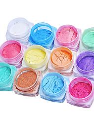 cheap -18pcs Glitter & Poudre Powder Glitters Classic High Quality Daily