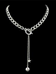 Dame Kædehalskæde Læder Legering Mode Boheme Stil Personaliseret kostume smykker Smykker Til Fest Daglig Afslappet