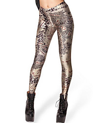 cheap -World map color printing bottom trousers of the European and American version of the map small foot nine women