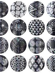 economico -16 Nail Art Sticker stampaggio polacco / Foil Tape Spogliarello makeup Cosmetic Nail Art Design