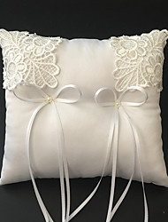 cheap -White 1 Ribbons Faux Pearl Embroidery Satin Wedding Ceremony Beautiful