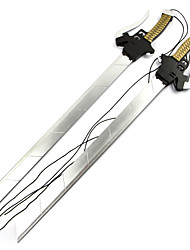 Weapon Sword Inspired by Attack on Titan Mikasa Ackermann Anime Cosplay Accessories Sword Weapon Wood Female