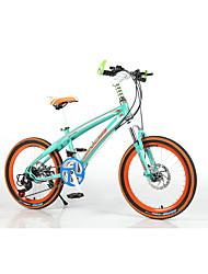 povoljno -Kids 'Bicikli Mountain Bike Biciklizam 21 Brzina 20 inča SAIGUAN EF-51 Disk kočnica Suspension Fork Bez prigušenja Običan plastika