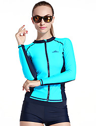 SBART Women's Wetsuits Wetsuit Skin Elastane Chinlon Diving Suit Long Sleeves Diving Suits Clothing Suits-Watersports Diving & Snorkeling