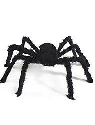 1pc Plush Spider for Halloween Costume Party Decoration(Random Color)