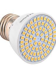 E26/E27 Lâmpadas de Foco de LED MR16 72 leds SMD 2835 Decorativa Branco Quente Branco Frio 600-700lm 2800-3200/6000-6500K 30/9V