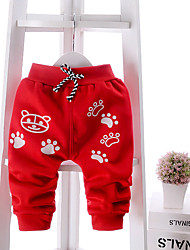 Boy's Casual/Daily Solid PantsCotton Winter / Fall Black / Blue / Red / Gray