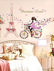 Flower Fairy Girl cycling Tower