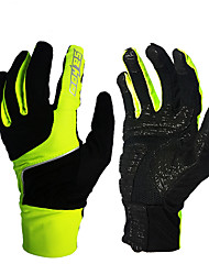 cheap -Sports Gloves Touch Gloves Bike Gloves / Cycling Gloves Keep Warm Wearable Wearproof Anti-skidding Protective Limits Bacteria Full-finger