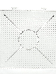 cheap -1PCS Template Clear General Linkable Large Pegboard 15*15cm Square for 5mm Hama Beads Perler Beads Fuse Beads