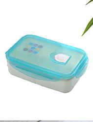 Недорогие -1шт случайный цвет посуда зрачков взрослых жаропрочные высокого качества большой емкости из пластика бенто коробка