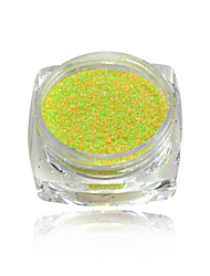 cheap -1g Dazzling Finest Mixed Colors Sugar Glitter Powder Decorations Tips Nail Art Pigment DIY Craft Powder