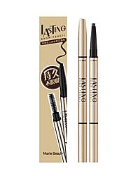 Augenbrauen Malerei Schimmer Farbiger Lipgloss / Lang anhaltend Braun Augen 1 1