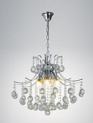 ciondolo luce lusso moderno cristallo soggiorno 6 luci di alta qualità