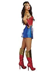 billige -Superhelte / Film & TV Kostumer Cosplay Kostumer Sexede Uniformer Terylene Cosplay Tilbehør Halloween / Karneval