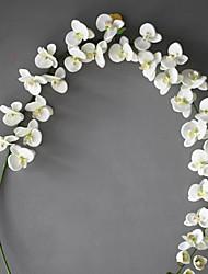 Недорогие -1 Филиал Полиэстер Орхидеи Букеты на стол Искусственные Цветы