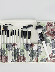 cheap -12pcs Makeup Brushes Professional Makeup Brush Set Synthetic Hair Portable / Professional Wood