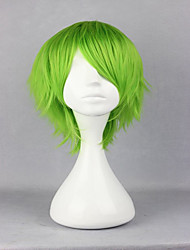 cheap -Anime Kidou Senshi Gundam 00 Ribbons Almark 32cm Short Light Green Cosplay  Wig Party Costume Wig