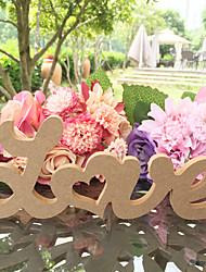 abordables -Matière Bois Cadeau Cérémonie Décoration - Mariage Anniversaire Fête / Soirée Fiançailles Enterrement de Vie de Jeune Fille Fête scolaire