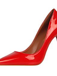 abordables -Femme Chaussures Cuir Verni Printemps / Eté Nouveauté Chaussures à Talons Talon Aiguille Bout pointu Combinaison pour Soirée & Evénement