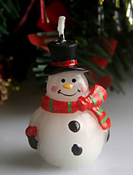 Christmas Scar Snowman Christmas Eve Candle 5Cm Spoons Holiday Ornaments