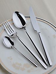Acciaio inossidabile 304 Forchetta da tavola / Coltello da tavola Cucchiai / Forchette / Coltelli / Cucchiai da zucchero 4 pezzi