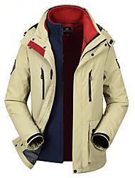 Hiking Softshell Jacket Unisex Waterproof / Breathable / Thermal / Warm / Windproof / Wearable Winter TeryleneRed /