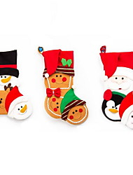 1 Pc Cartoon Christmas Stockings Gift Bags Christmas Decoration
